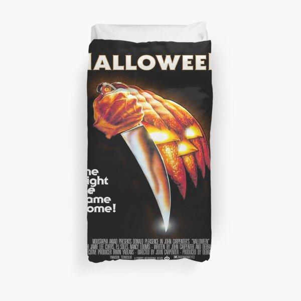 Original Halloween Poster Duvet Cover
