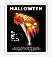 Original Halloween Poster Sticker