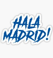 Hala Madrid Sticker