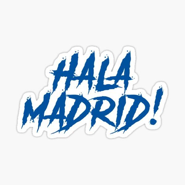 Hala Madrid Pegatina