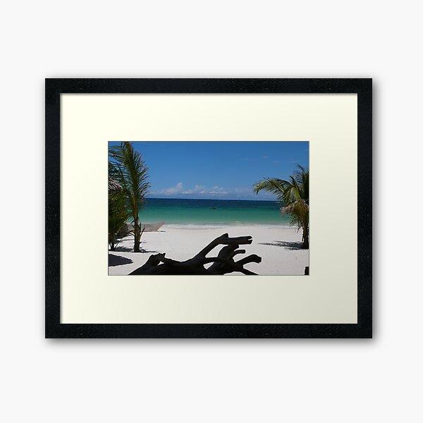 Diani Beach, Kenya Framed Art Print