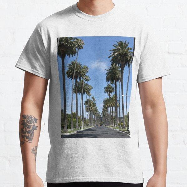 Tall California Palm Trees Photograph  Classic T-Shirt