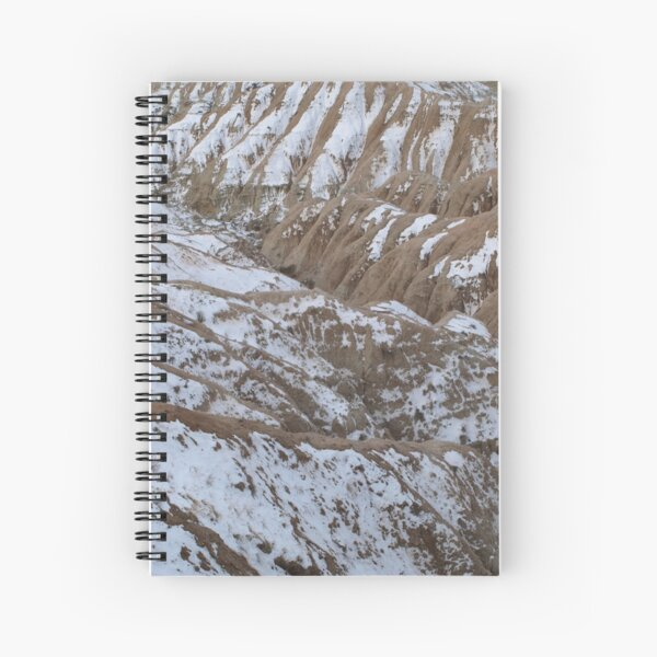 Folds of the Earth Spiral Notebook
