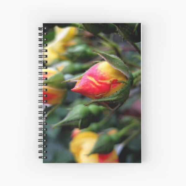 blooming opportunity Spiral Notebook