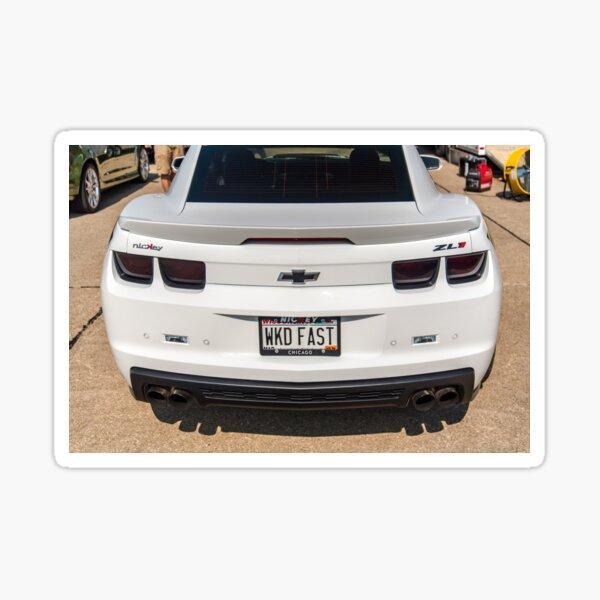 Nickey Camaro ZL1 Sticker