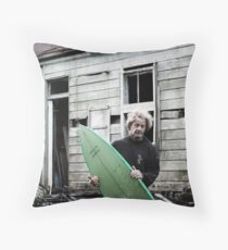 "David ""Baddy"" Treloar Throw Pillow"