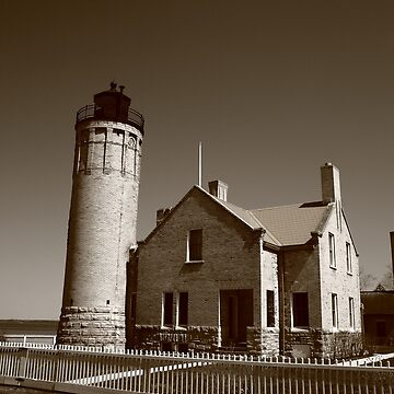 Lighthouse - Mackinac Point, Michigan by Ffooter