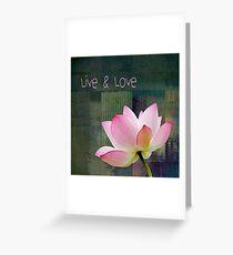 Live n Love - 0333-15a Greeting Card