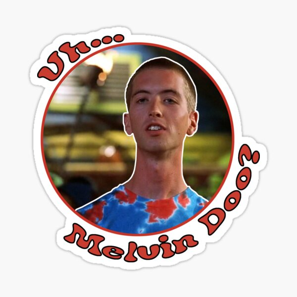 Uh...Melvin Doo? Sticker