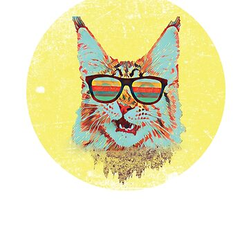 Retro Cat by Schwaz