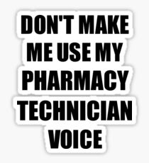 6d1f0f321 Pharmacy Technician Gift for Coworkers Funny Present Idea Sticker