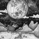 Moon Balloon by ECMazur
