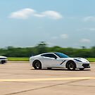 C6 Corvette Stingray vs Charger by Scott McKellin