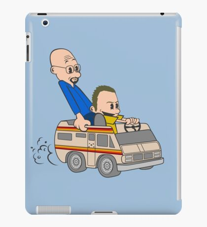 Jesse & Mr White iPad Case/Skin