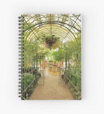 Conservatory Interior Spiral Notebook