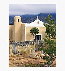 San Francisco Church, Golden, New Mexico Photographic Print