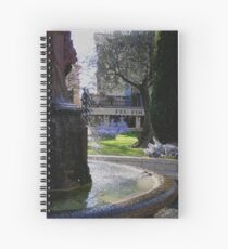 Monte Carlo Christmas Spiral Notebook