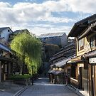 sanneizaka kyoto in the morning by aaronchoi