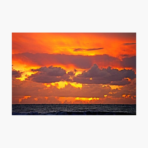 Fires of Glory in the Sky Photographic Print