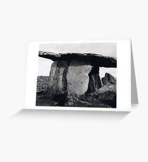 Poulnabrone Dolmen Greeting Card