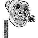 Zodiac  Lucky Monkey 2019  by PeLari