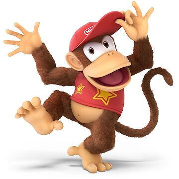 Super Smash Bros. Ultimate - Diddy Kong by overflag