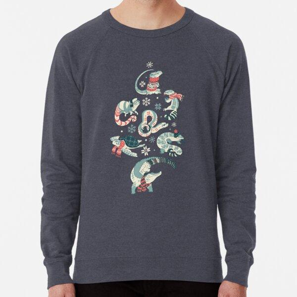 Winter herps Lightweight Sweatshirt