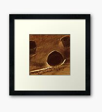 Sand Worms of Dune Framed Print