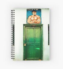 Muscle Man Spiral Notebook