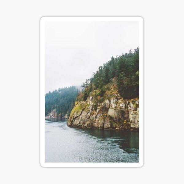 Ferry to Victoria, BC Sticker