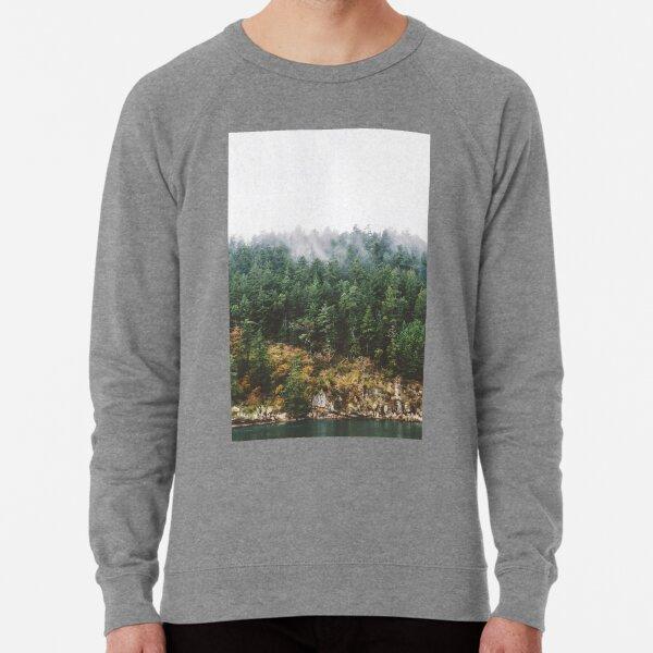 Foggy Vancouver Island Lightweight Sweatshirt