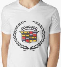Bermahkota Men's V-Neck T-Shirt