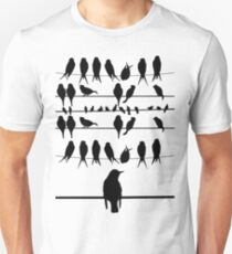 THE BIRDS! Slim Fit T-Shirt