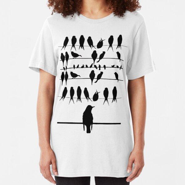 THE BIRDS! Slim Fit T-Shirt