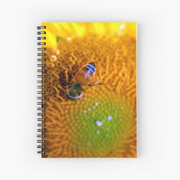Summer Sunflower Spiral Notebook