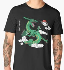 Rayquaza Sky Men's Premium T-Shirt