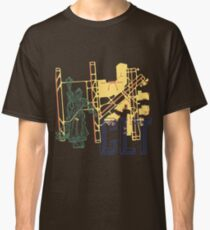 CLT Charlotte Navy Classic T-Shirt