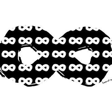 Black Infinity White by Banta