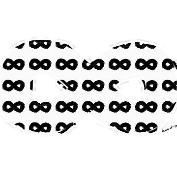 White Infinity Black by Banta