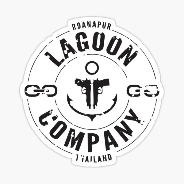 Lagoon Company Sticker