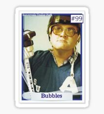 Bubbles, Trailer Park Boys, Hockey Sticker
