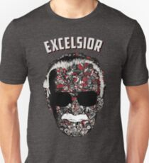 Stan Lee Tribute Shirt - Excelsior - Quote - Gift  Slim Fit T-Shirt