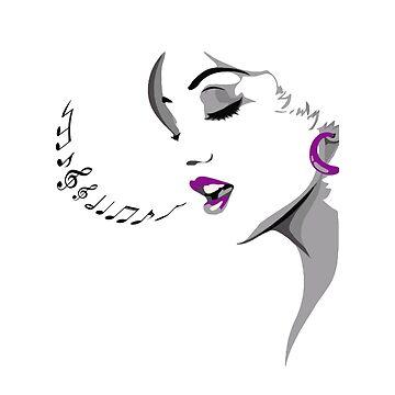 Singing legend by MN-Design-W40