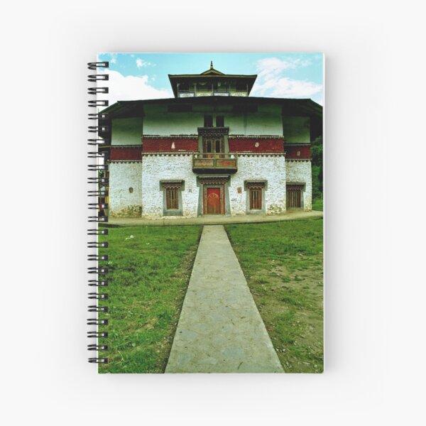 pathway. labrang gompa, north sikkim Spiral Notebook