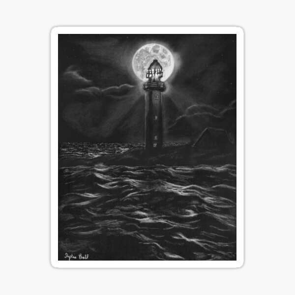 The Vacant Lighthouse Sticker