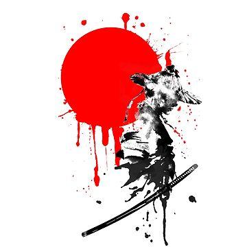 Japanese Warrior by vivalarevolucio