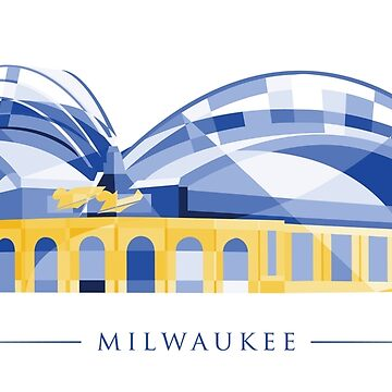 Milwaukee Baseball Stadium Polygonal by abowersock