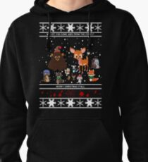 Woodland Critters Pullover Hoodie