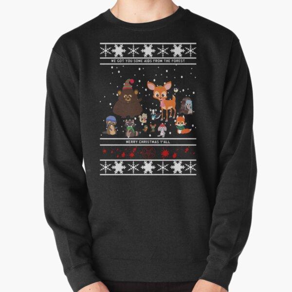 Woodland Critters Pullover Sweatshirt