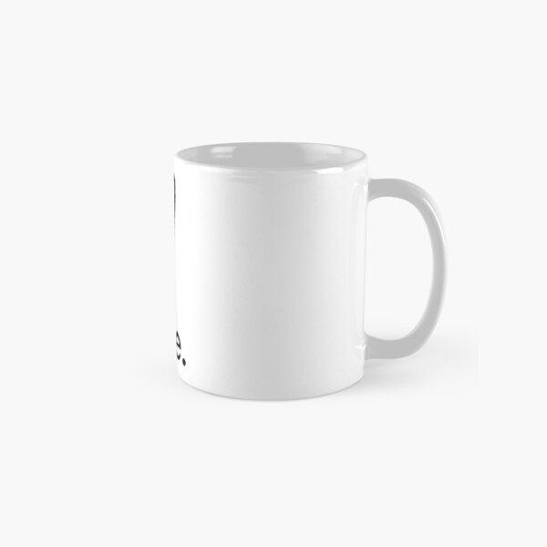 love minimalist ink design Classic Mug